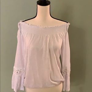 INC off the shoulder blouse NWT